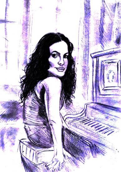 Norah Jones by Junkova14